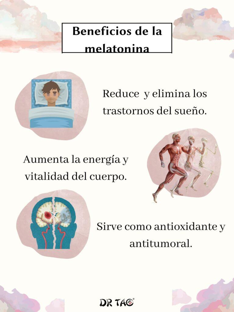 La melatonina reduce y elimina los trastornos del sueño, aumenta la  energía y vitalidad del cuerpo.